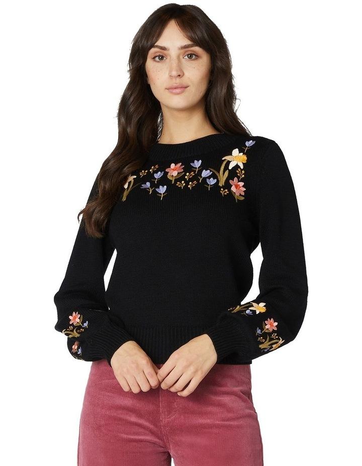 Winona Embroidered Sweater image 1