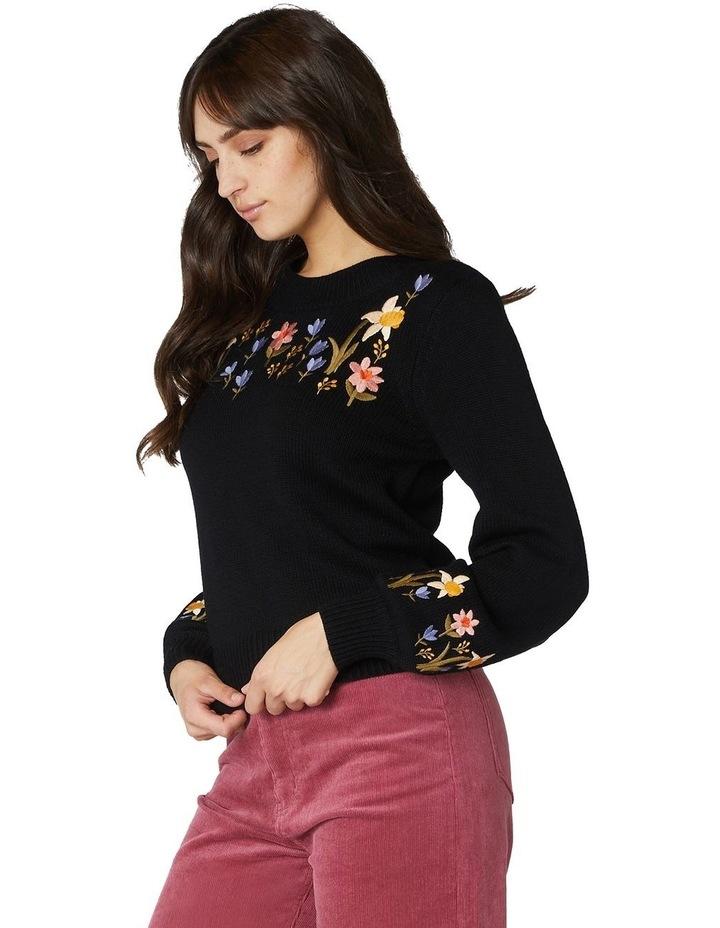 Winona Embroidered Sweater image 2