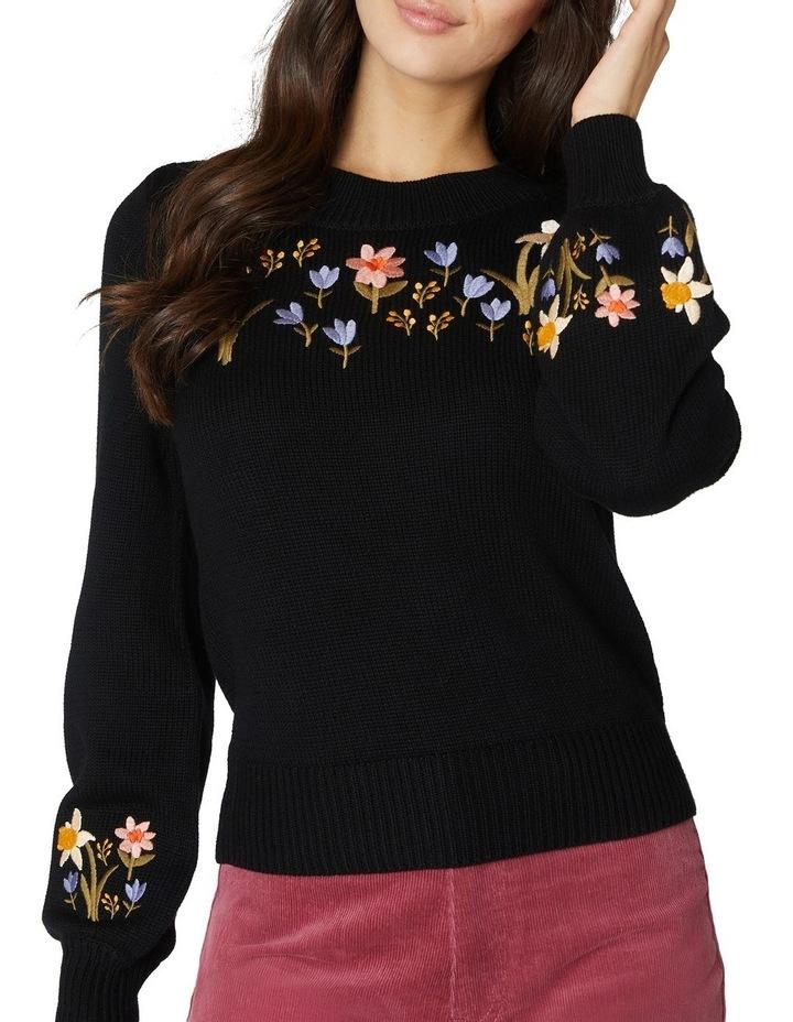 Winona Embroidered Sweater image 4