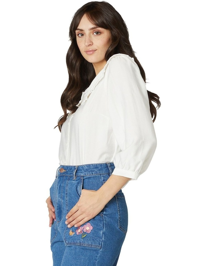 Susie Large Collar Blouse image 2