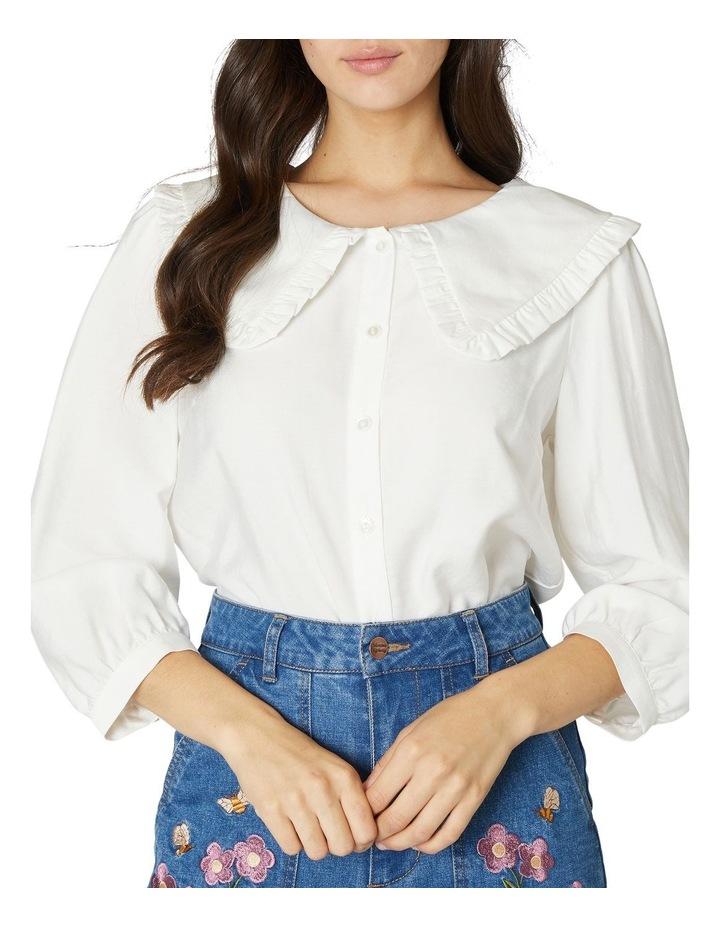 Susie Large Collar Blouse image 4