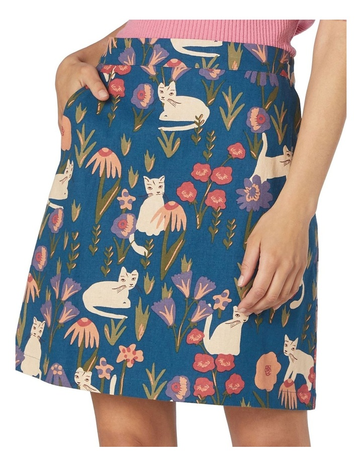 Scandinavian Cat Skirt image 3