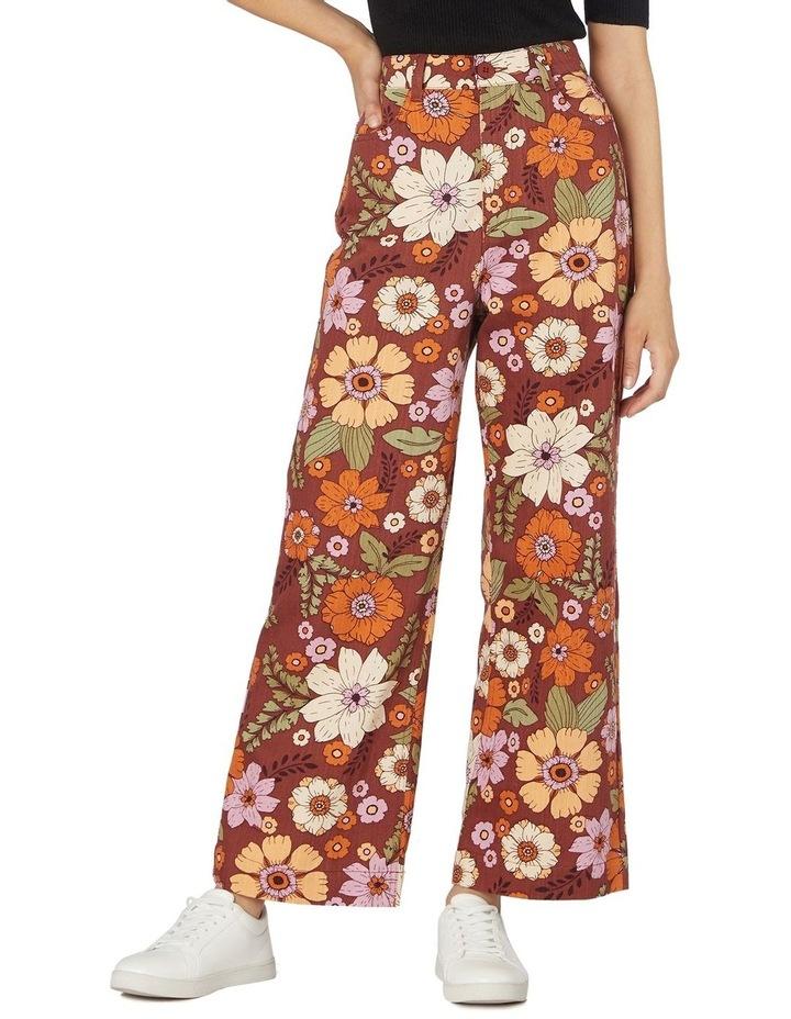 Brandy Floral Pants image 1