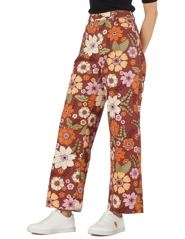 Brandy Floral Pants image 2
