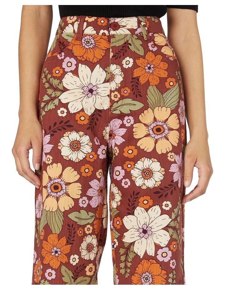 Brandy Floral Pants image 4
