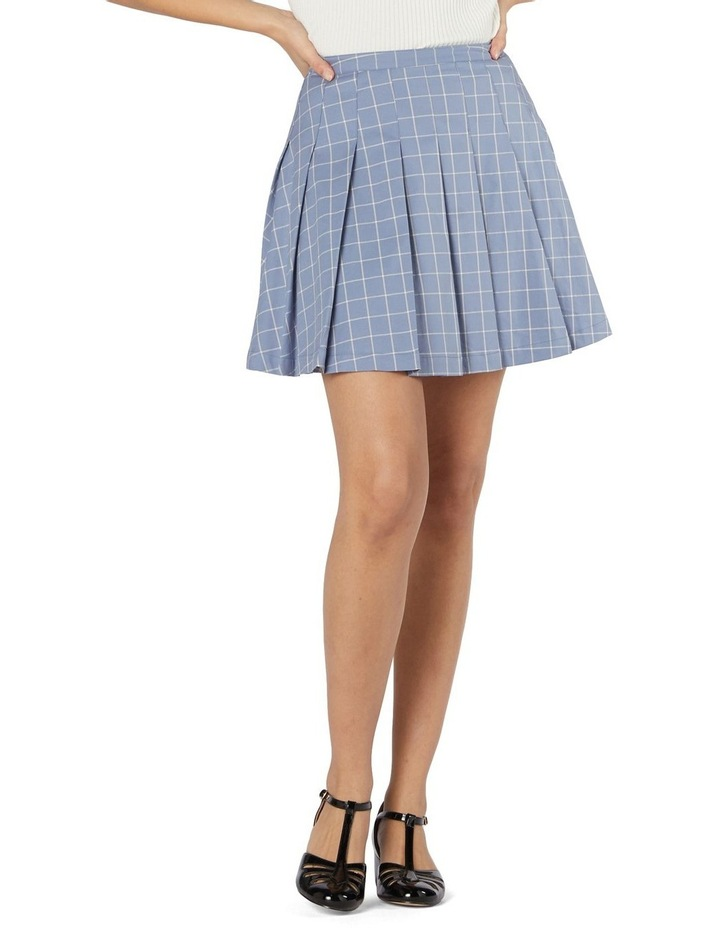 Tabitha Check Mini Skirt image 1