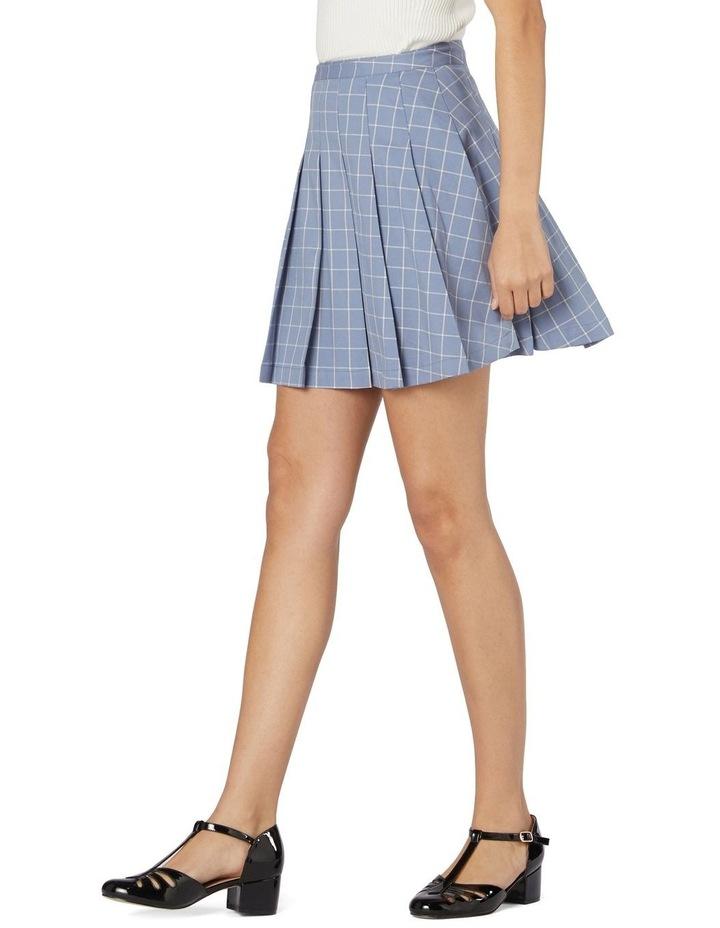 Tabitha Check Mini Skirt image 2