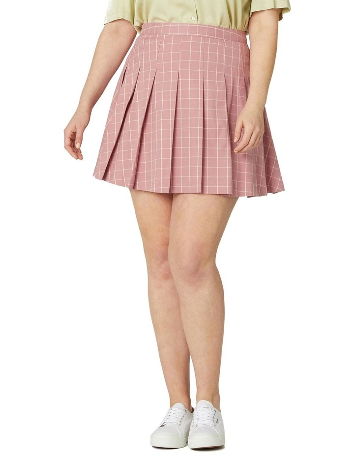 Tabitha Check Mini Skirt image 5