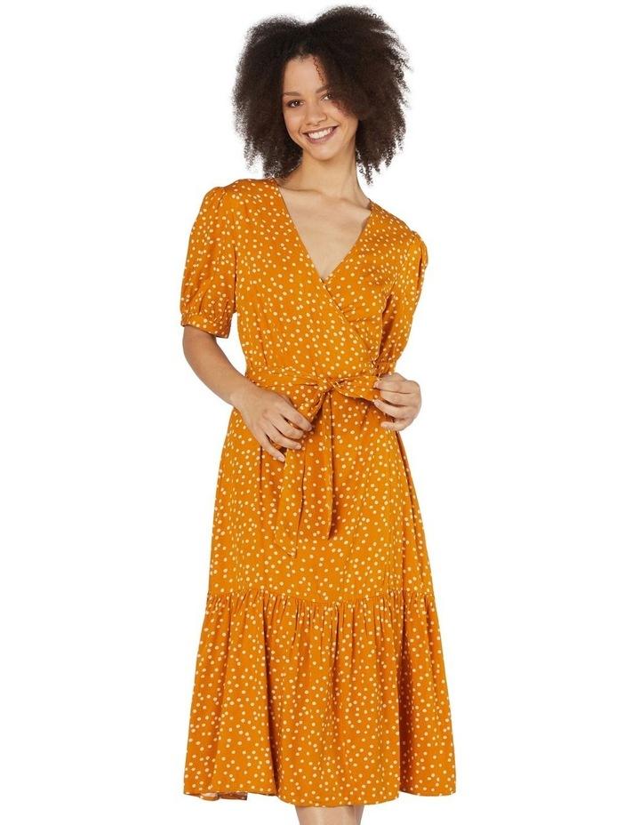 Olivia Spot Wrap Dress image 1