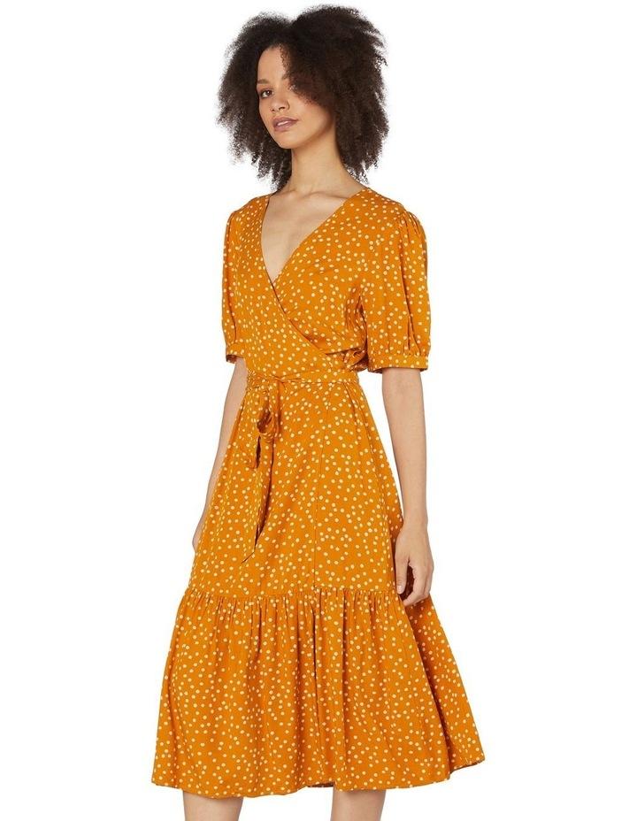 Olivia Spot Wrap Dress image 2