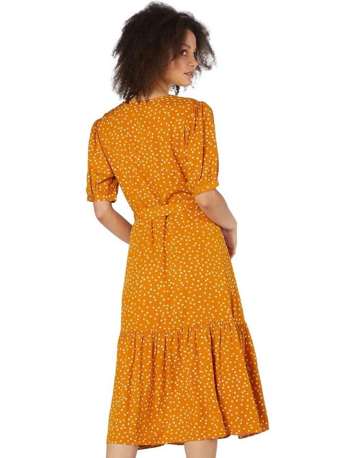 Olivia Spot Wrap Dress image 3