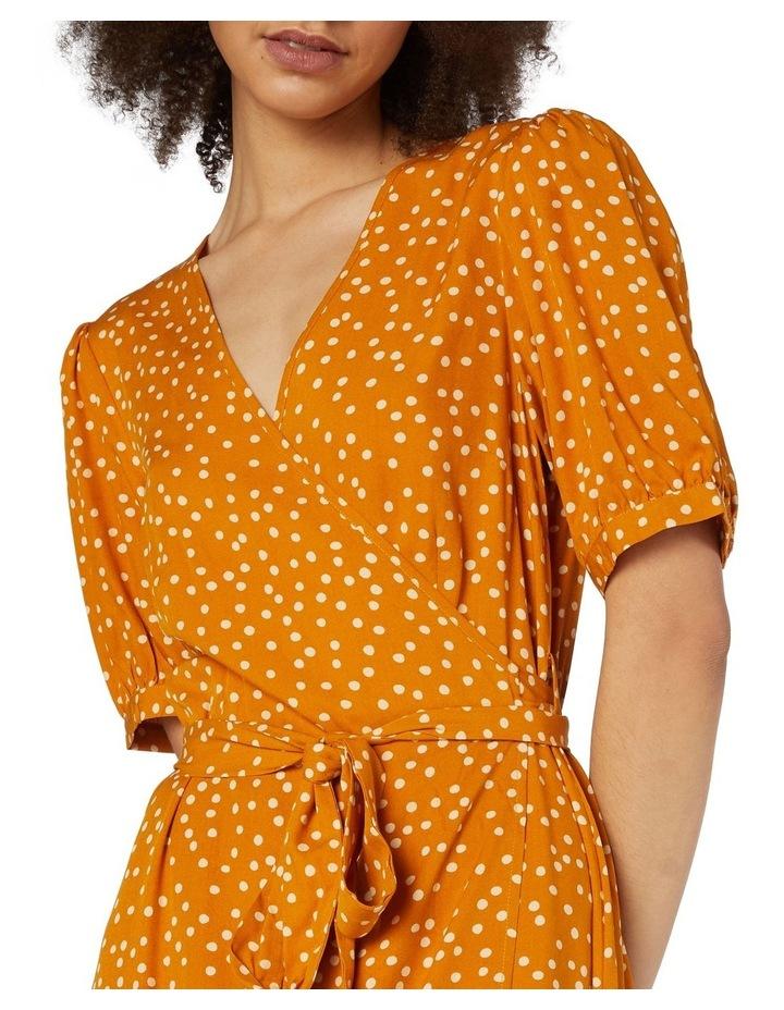 Olivia Spot Wrap Dress image 4