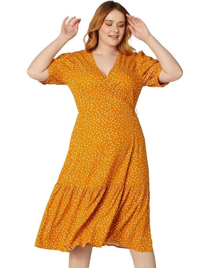 Olivia Spot Wrap Dress image 5