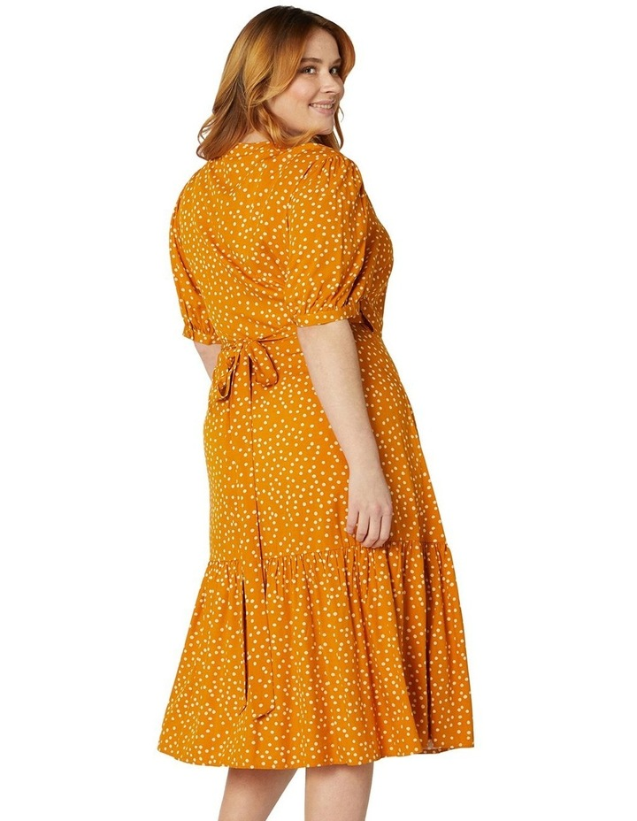 Olivia Spot Wrap Dress image 6