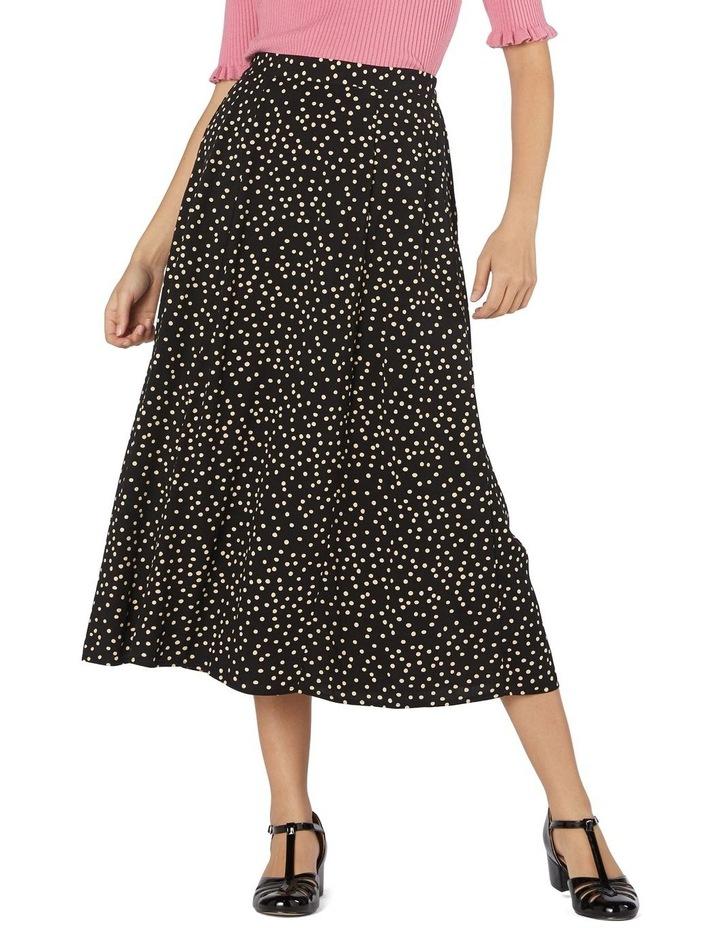 Olivia Spot Midi Skirt image 1