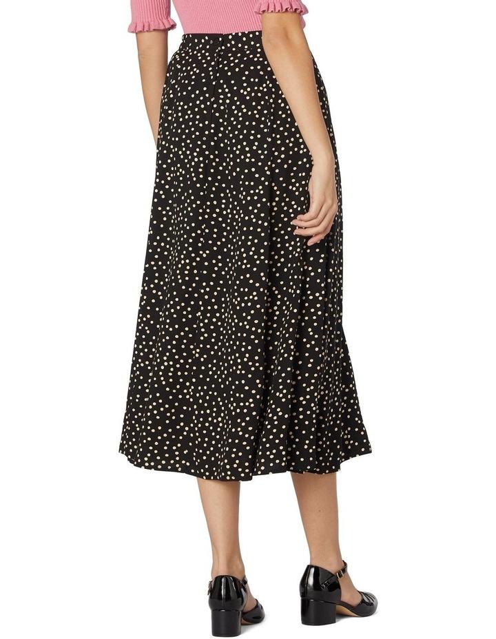 Olivia Spot Midi Skirt image 3