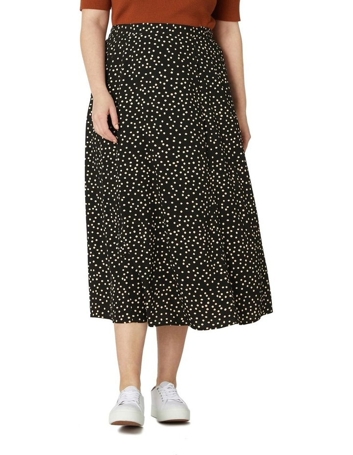 Olivia Spot Midi Skirt image 5