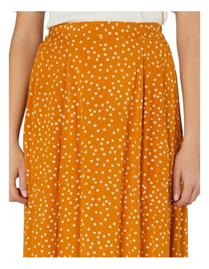 Olivia Spot Midi Skirt image 4