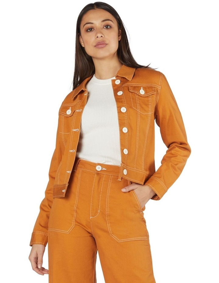 Angie Drill Jacket image 1