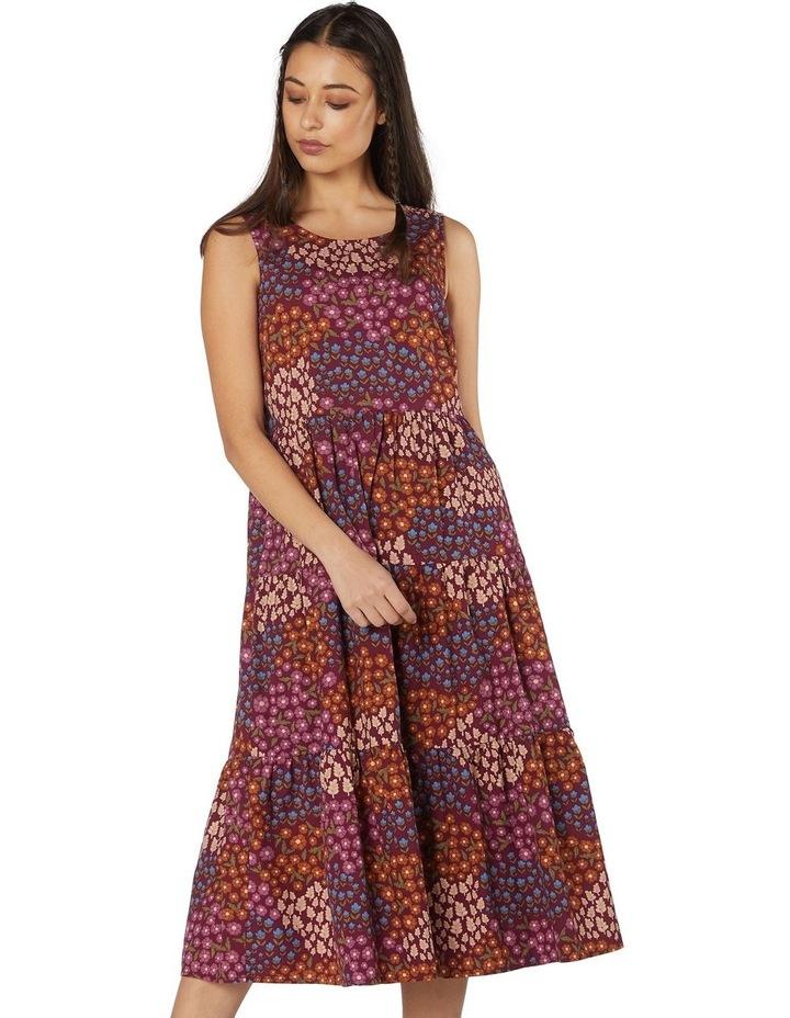 Floral Patchwork Dress image 1