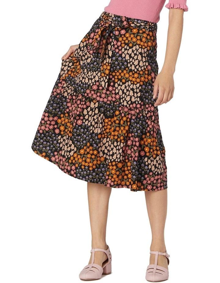 Floral Patchwork Skirt image 1