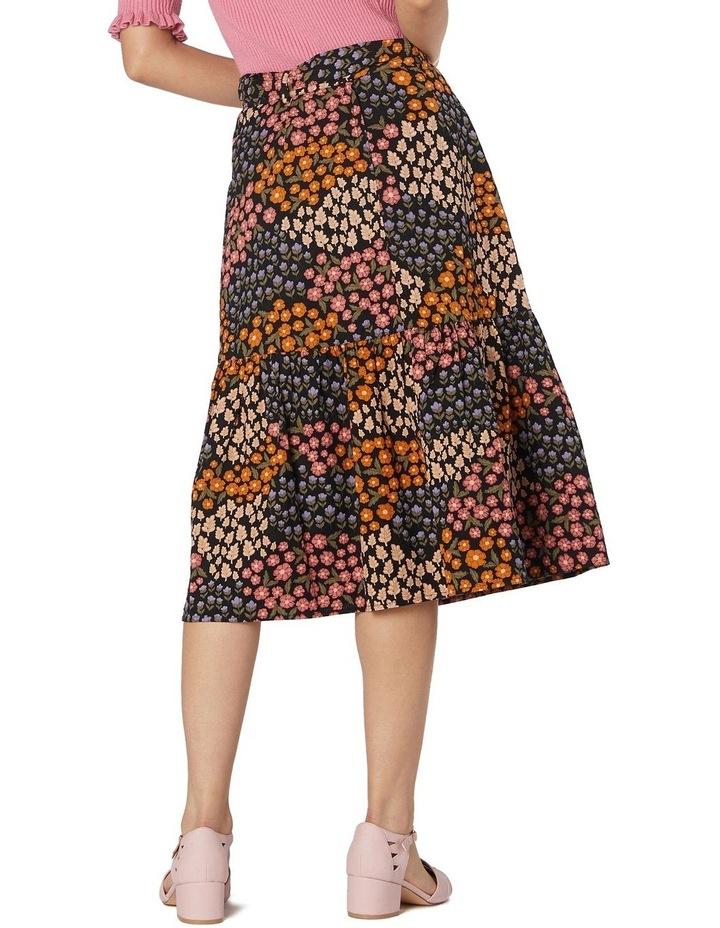 Floral Patchwork Skirt image 3