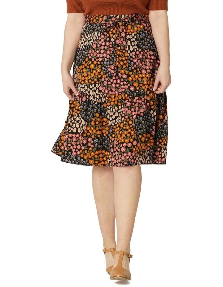 Floral Patchwork Skirt image 5