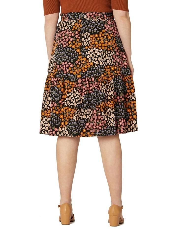 Floral Patchwork Skirt image 6