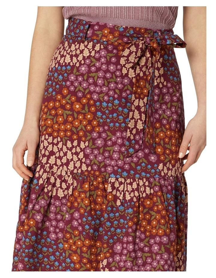 Floral Patchwork Skirt image 4