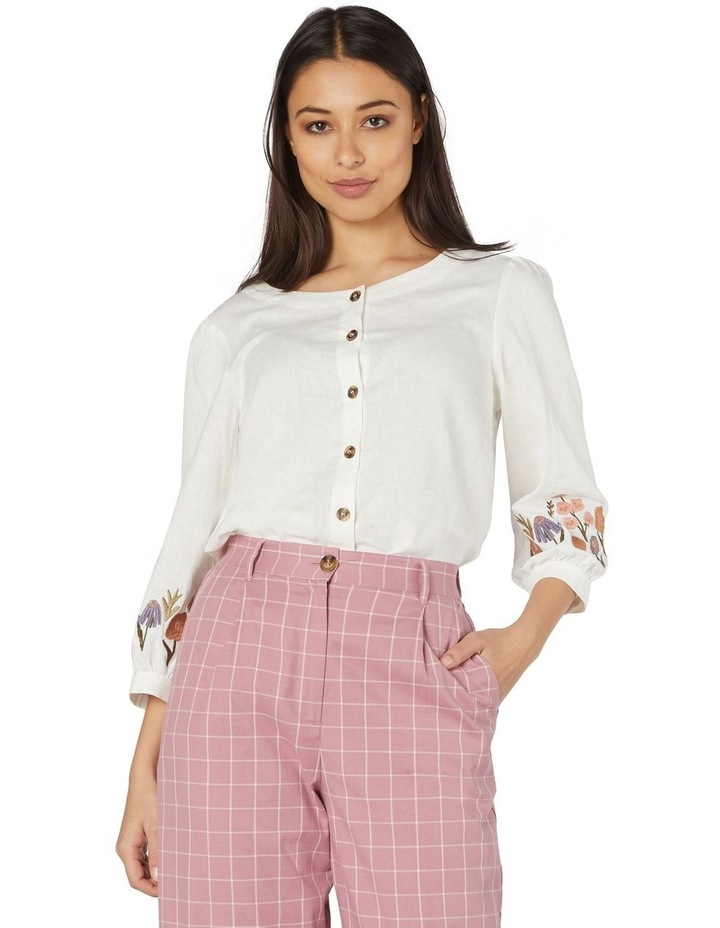 Fleur Embroidered Blouse image 1