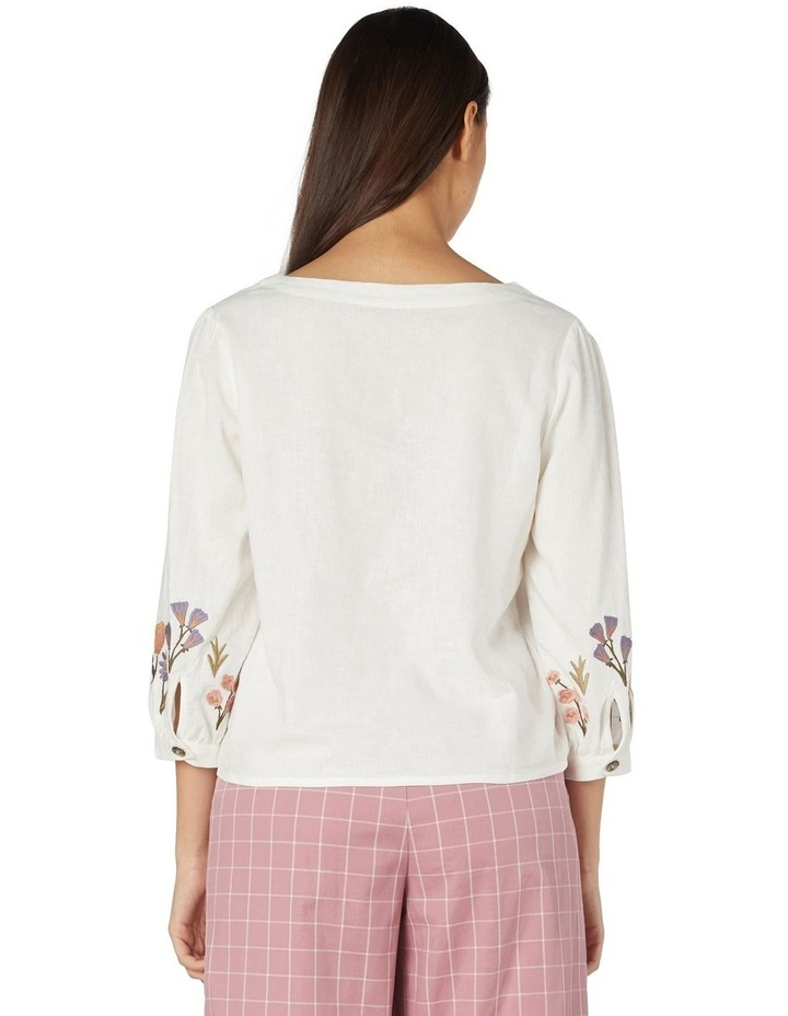 Fleur Embroidered Blouse image 3