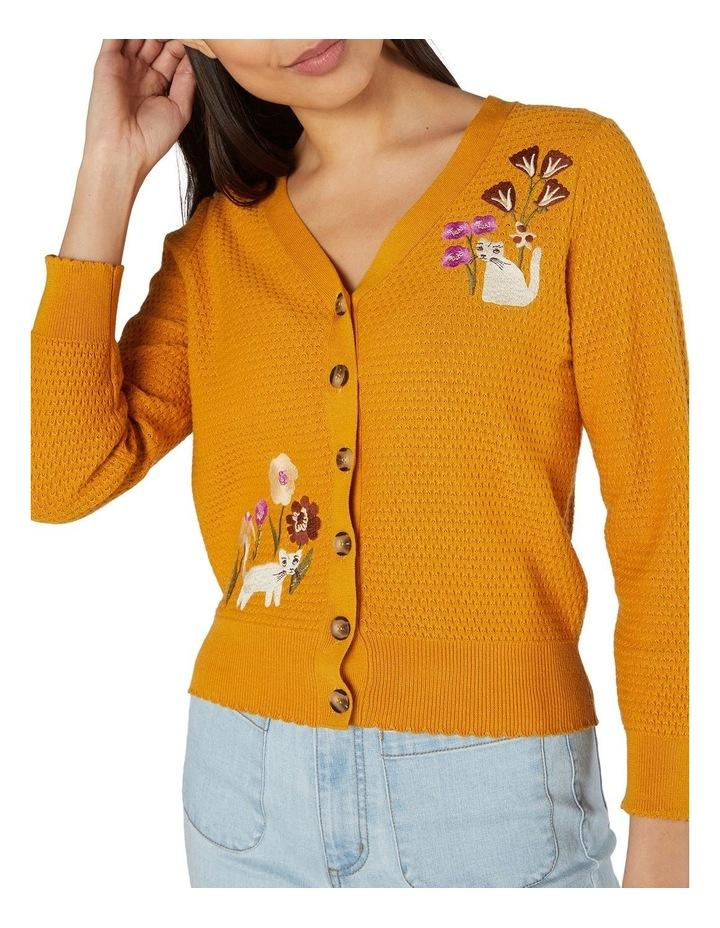 Fleur Embroidered Cardi image 4