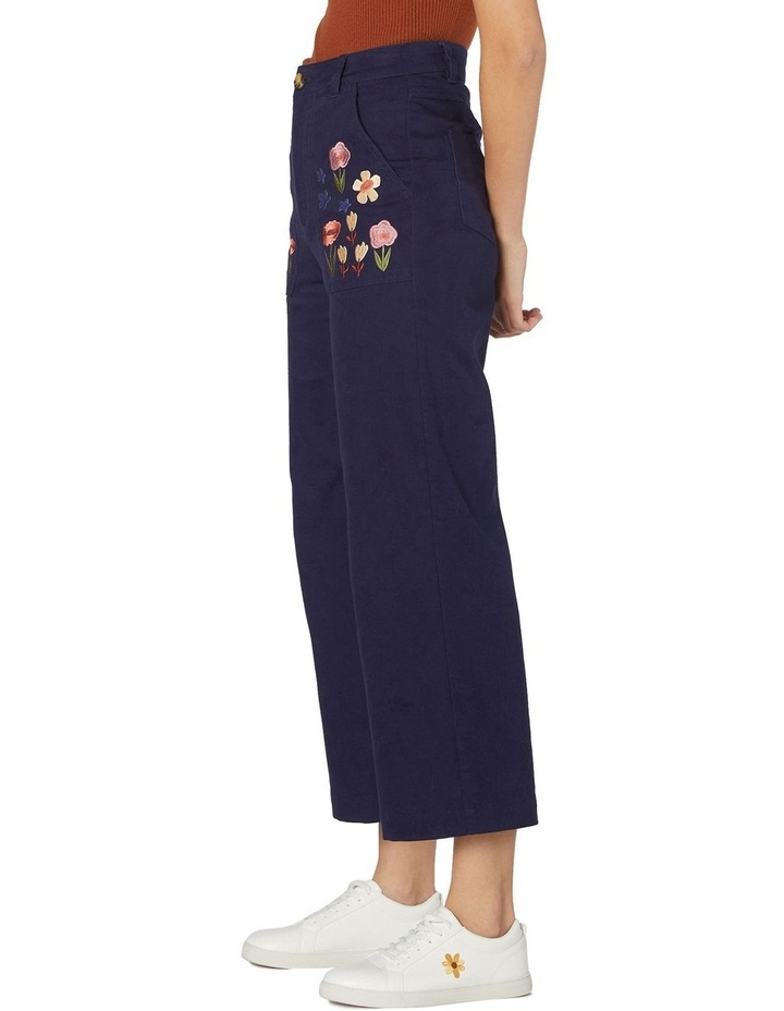 Enid Embroidered Pants image 2