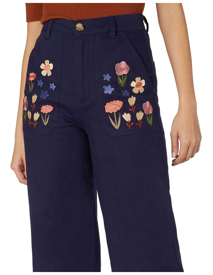 Enid Embroidered Pants image 4