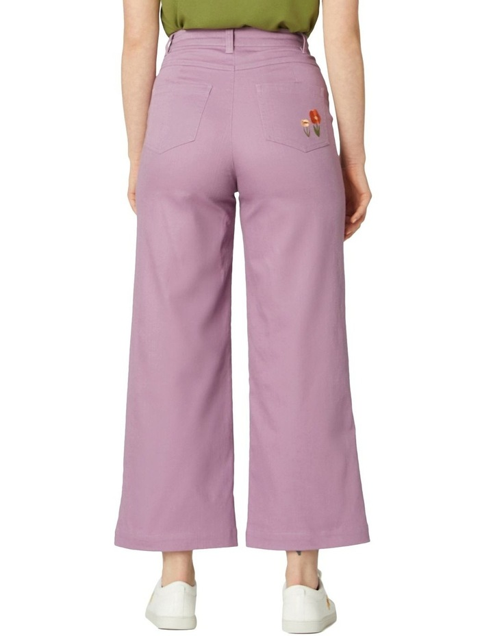 Enid Embroidered Pants image 3