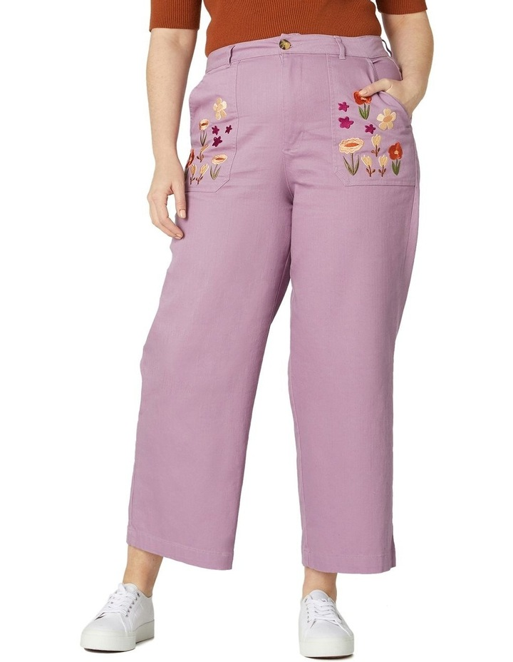 Enid Embroidered Pants image 5