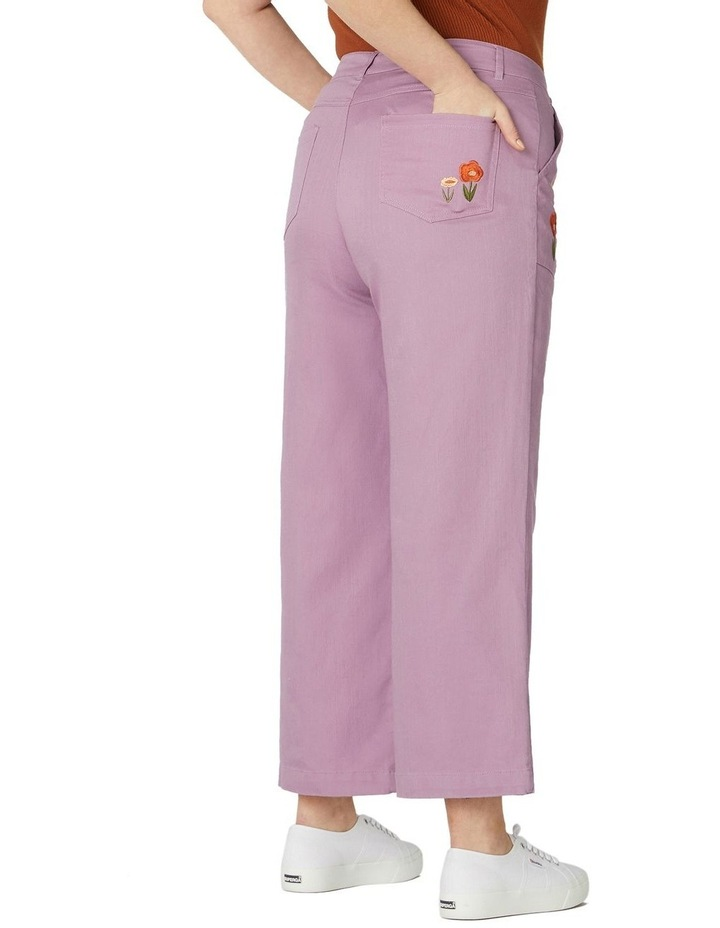 Enid Embroidered Pants image 6