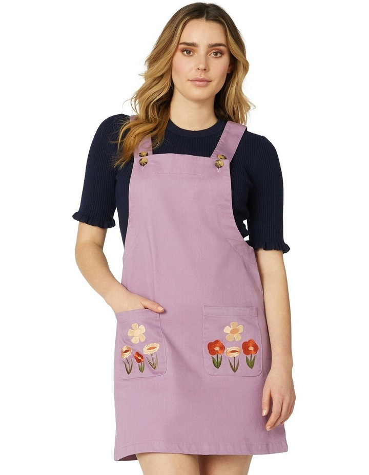 Enid Embroidered Pinny image 1