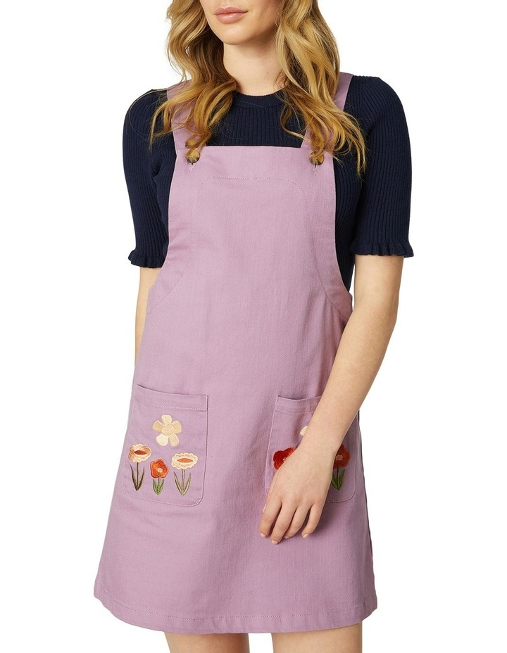 Enid Embroidered Pinny image 4