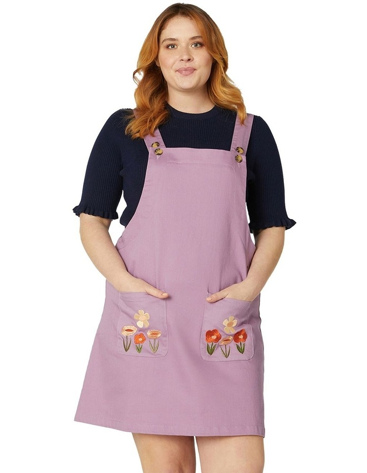 Enid Embroidered Pinny image 5