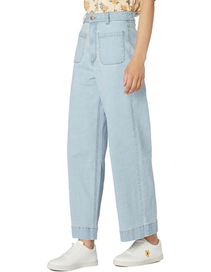 Elena In Spring High-Waisted Jeans Light Denim image 2