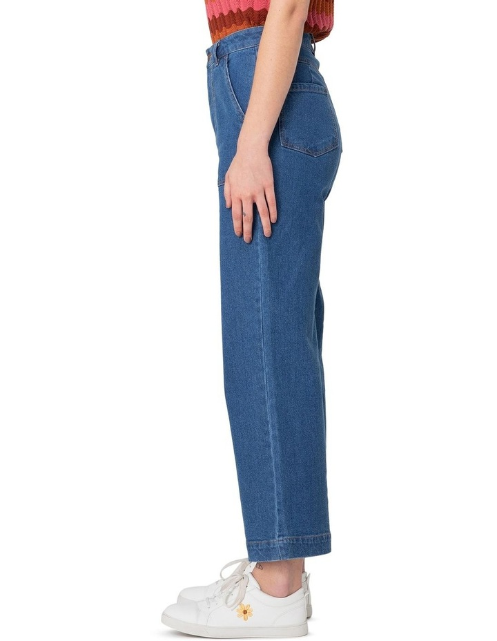 Riley High-Waisted Jeans Blue image 1