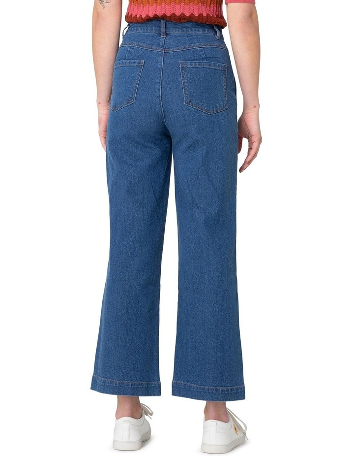Riley High-Waisted Jeans Blue image 2