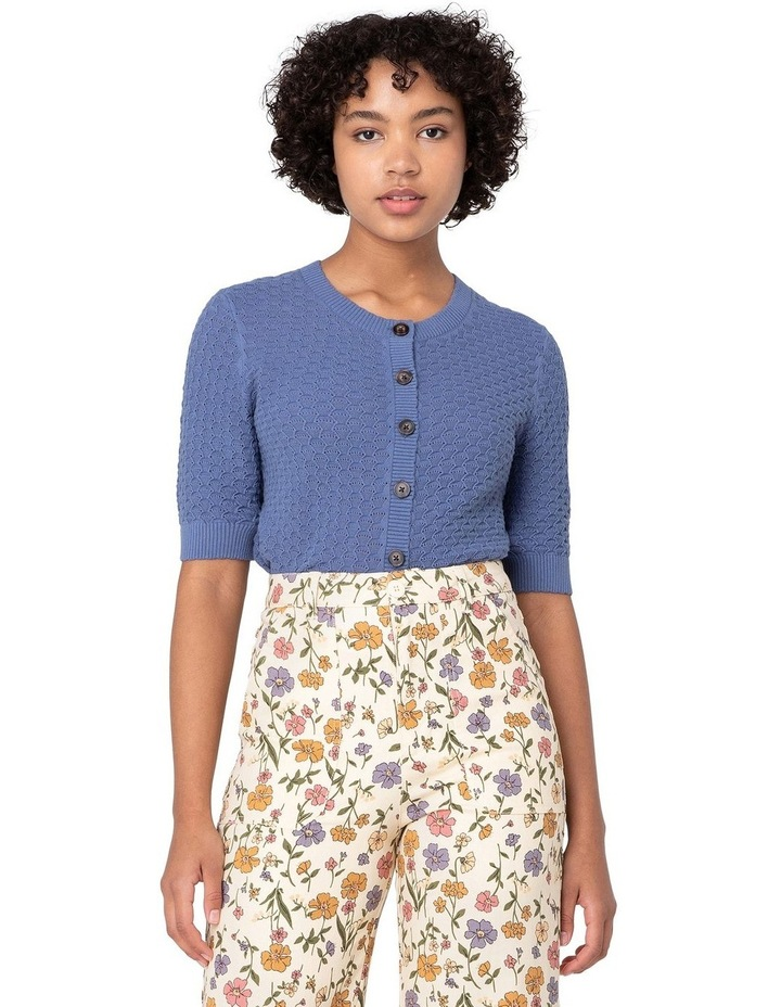 Garden Knitted Cardi Blue image 1