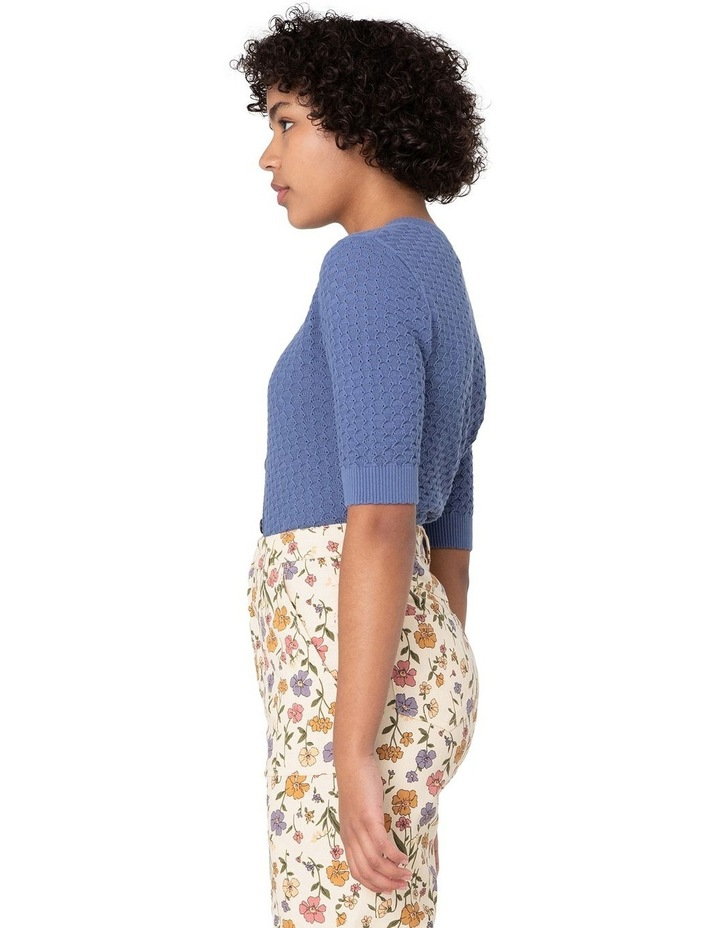 Garden Knitted Cardi Blue image 2