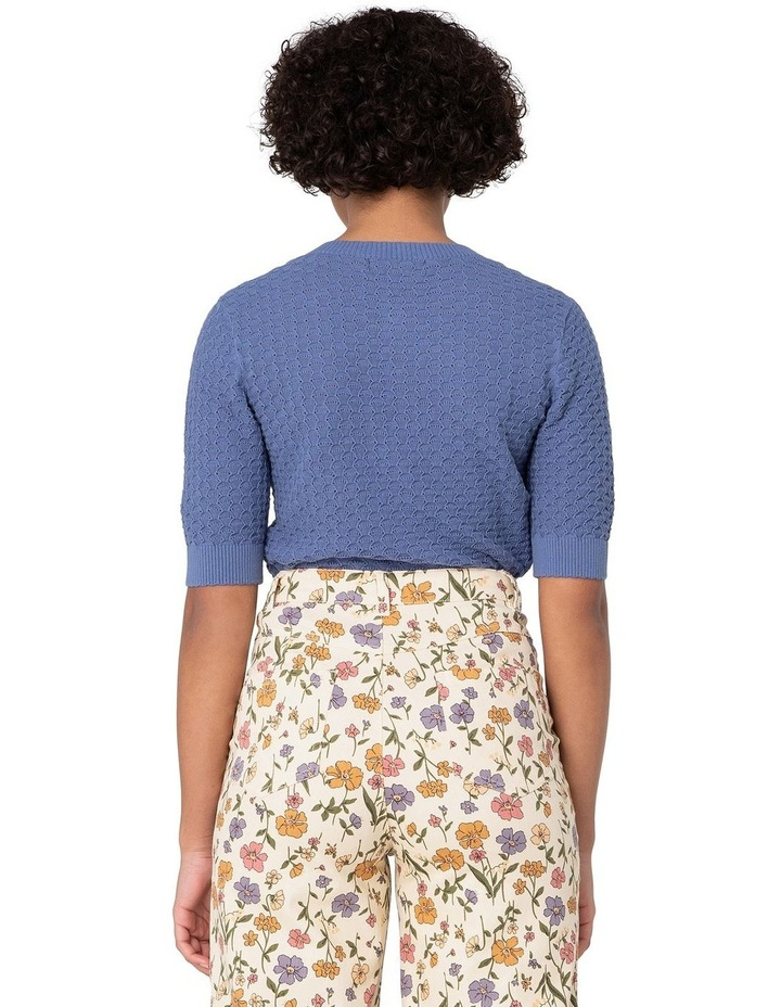 Garden Knitted Cardi Blue image 3