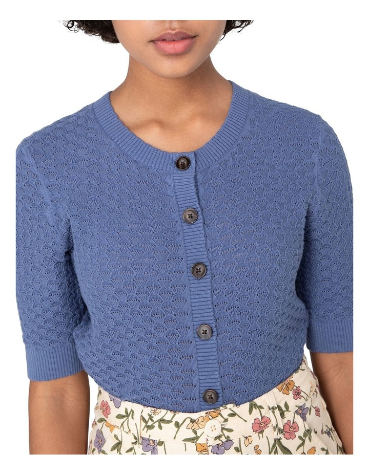 Garden Knitted Cardi Blue image 4