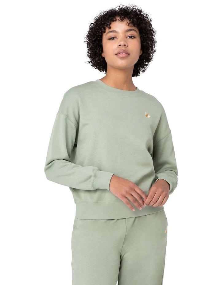 Marissa Fleece Sweater Green image 1