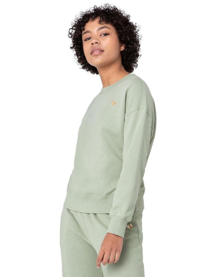 Marissa Fleece Sweater Green image 2