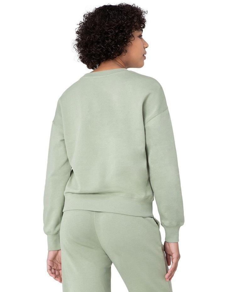Marissa Fleece Sweater Green image 3